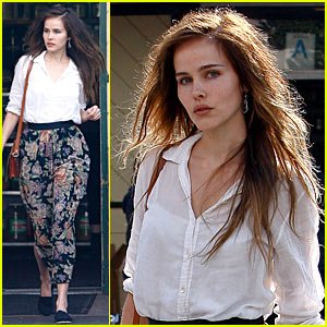 Isabel Lucas: Nature Mart Flower Girl!