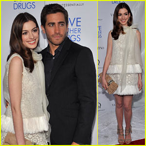 Jake Gyllenhaal &#038; Anne Hathaway: 'Love' Screening in NYC