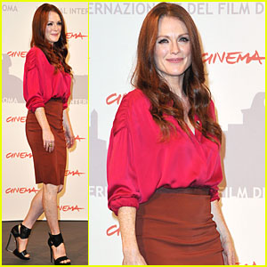 Julianne Moore: 'Kids Are All Right' in Rome!