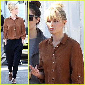 Kate Bosworth: 'BFF' Break in Brown!