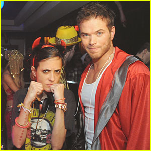 Kellan Lutz: Atlantic City Halloween Party!
