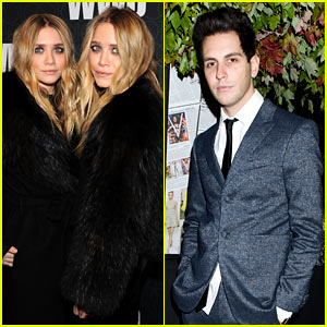 Mary-Kate & Ashley Olsen: WWD Gala with Gabe Saporta!