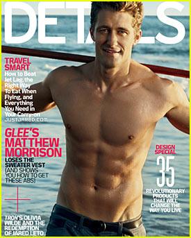 Matthew Morrison: Shirtless 'Details' Cover Man!