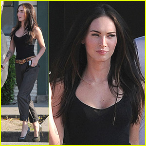 Megan Fox Shops For