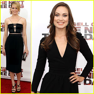 Olivia Wilde & Elizabeth Banks: 'Next Three Days' Premiere!