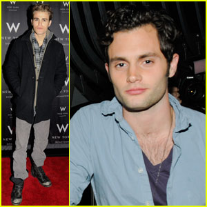 Paul Wesley & Penn Badgley: Symmetry Spinners