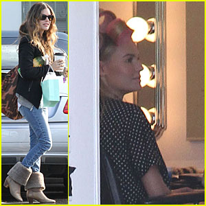 Rachel Bilson: Three Days Left on 'BFF & Baby' Shoot!