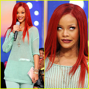 Rihanna: Funny Faces on '106 & Park'!