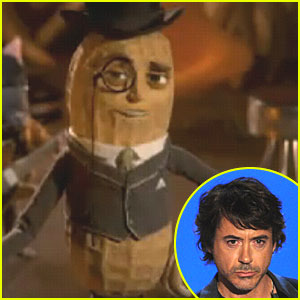 Robert Downey, Jr.: Mr. Peanut's New Voice!