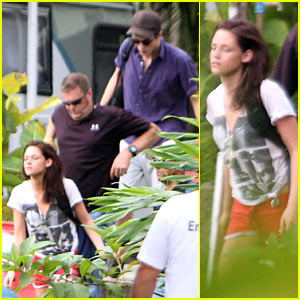 Robert Pattinson & Kristen Stewart: Brazilian Break!