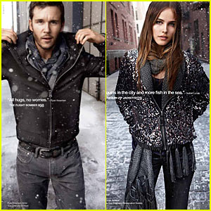 Ryan Kwanten: Gap Holiday Ads with Isabel Lucas!