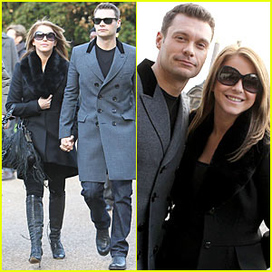 Ryan Seacrest & Julianne Hough: Black Friday in France!