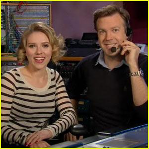 Scarlett Johansson: 'SNL' Promo with Jason Sudeikis
