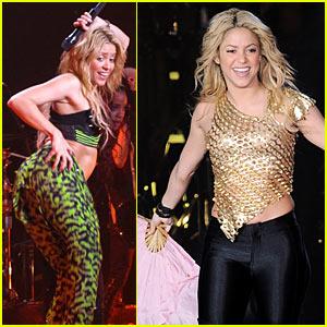 Shakira Brings Her Waka Waka to Italy