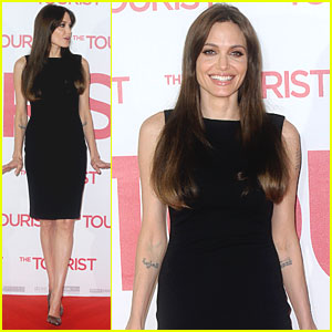 Angelina Jolie: 'Tourist' Photo Call in Berlin!