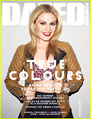 Anna Paquin Covers 'Dazed & Confused' January 2011