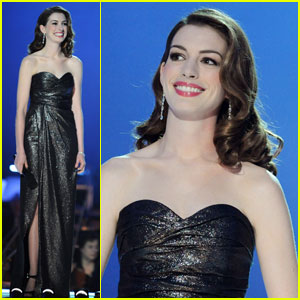 Anne Hathaway: Nobel Concert Host with Denzel Washington!