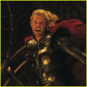 Chis Hemsworth & Natalie Portman: 'Thor' Trailer!