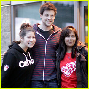 Cory Monteith: Fan Friendly Canuck!