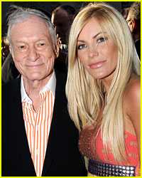 Hugh Hefner's Fiancee Flashes Engagement Ring