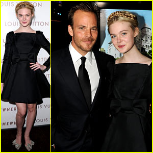 Elle Fanning: 'Somewhere' Premiere with Stephen Dorff