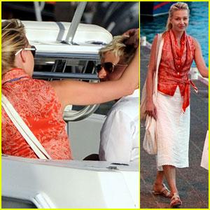 Ellen DeGeneres & Portia de Rossi: St. Barts Boat Ride!