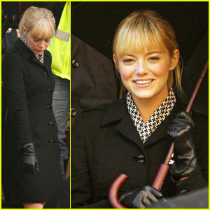 Emma Stone in 'Spider-Man' -- FIRST LOOK!