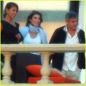 George Clooney: Dinner with Elisabetta and Her Parents!