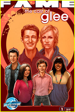 'Glee' Gets the Comic Book Treatment!