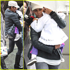 Halle Berry & Nahla: Let's Celebrate!