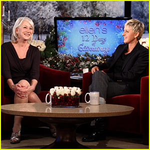 Helen Mirren: 'I'm Very Jealous of Katy Perry!'