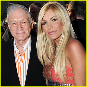 Hugh Hefner: Engaged to Crystal Harris!