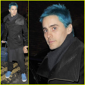 Jared Leto: New Blue Hair!