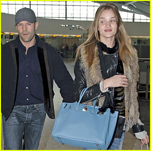 Jason Statham & Rosie Hungington-Whiteley: Christmas in London!