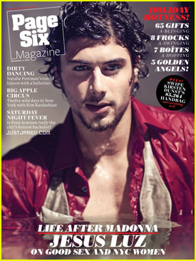 Jesus Luz Covers 'Page Six' Magazine