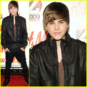 Justin Bieber: Z100 Jingle Ball 2010 Red Carpet