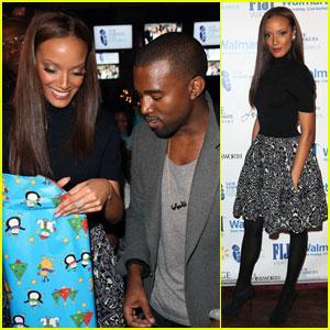 Kanye West & Selita Ebanks 'Wrap to Rap'