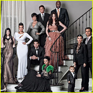 Kardashians' Christmas Card Revealed!