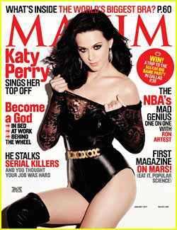 Katy Perry Covers 'Maxim' January 2011