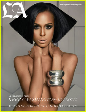 Kerry Washington Covers 'LA Times' Magazine December 2010
