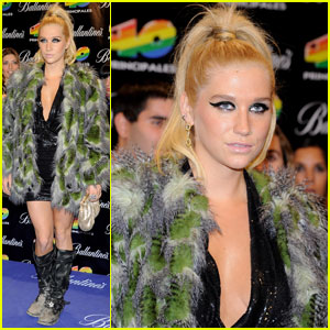 Ke$ha: Ponytail at Principales Awards