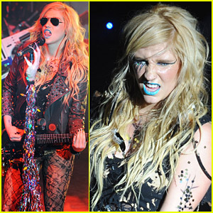 Ke$ha Rocks Out At Shepherd's Bush Empire