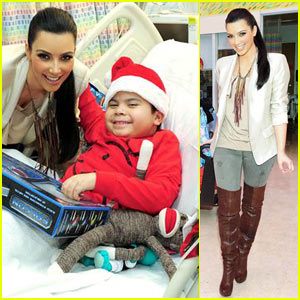 Kim Kardashian: Children's Hospital Holiday Cheer