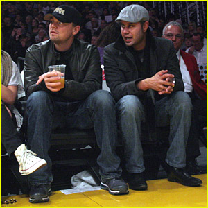 Leonardo DiCaprio Loves The Lakers