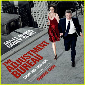 Matt Damon: New 'Adjustment Bureau' Posters!