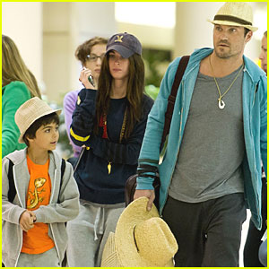 Megan Fox Heads Home from Hawaii