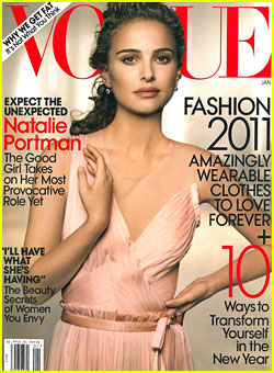 Natalie Portman Covers 'Vogue' January 2011