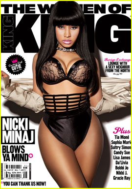 Nicki Minaj Covers 'King' March/April 2011