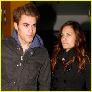 Paul Wesley &#038; Torrey DeVitto: Movie Date!