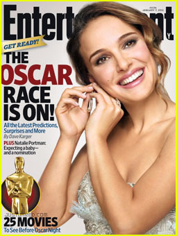 Pregnant Natalie Portman Covers Entertainment Weekly